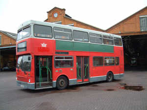 the bus before conversion